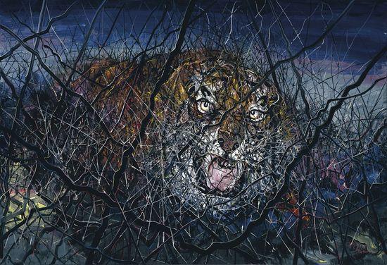 ZENG FANZHI - The Tiger - $1,500,000-2,500,000