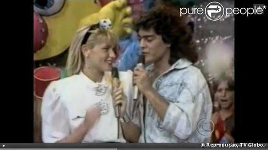 Xuxa y junno 80s