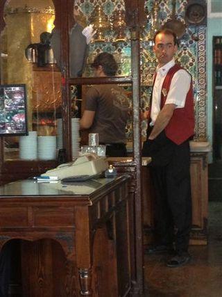 Interior del Café de Pierre Loti