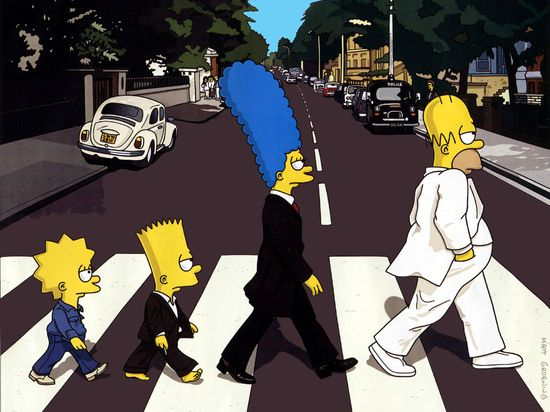 The-simpsons-abbey-road