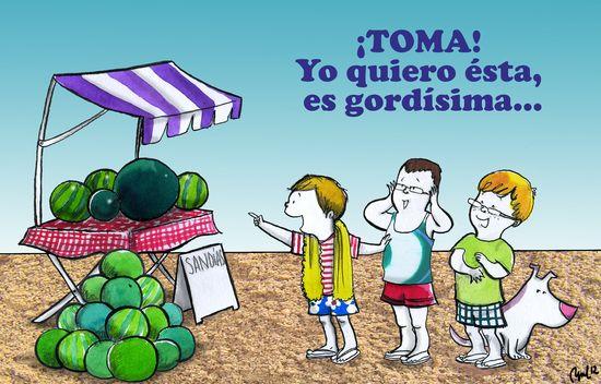 Melones o Facebook