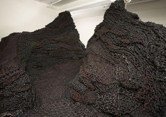 Orly_genger instalacion 2007 en Larissa Goldston Gallery