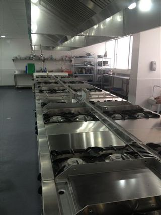 Cocinas de formación instaladas por Fagor