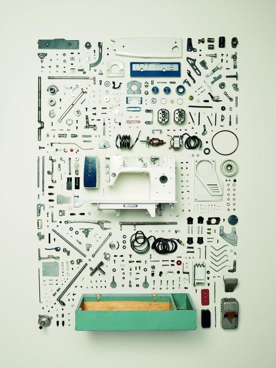 Máquina de coser, años setenta