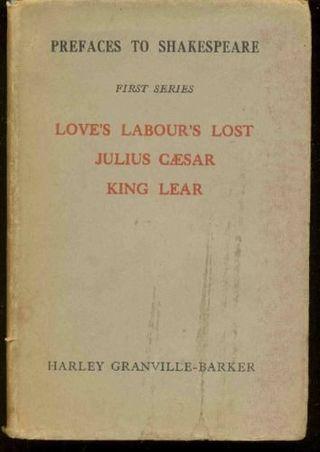 Prefaces to Shakespeare - edicion original