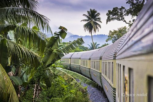 Oriental Express (atardecer sobre Malasia)