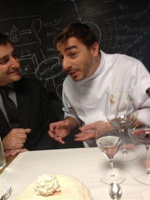 """Jordi Roca explica con razones su secuencia del """"pollo al ast"""""""