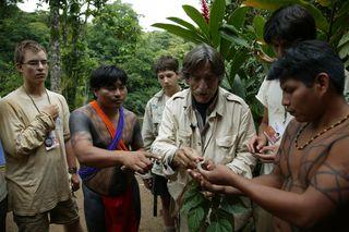 Miguel de la Quadra-salcedo, 3 julio 2008 en Panama . FOTO: ÁNGEL COLINA