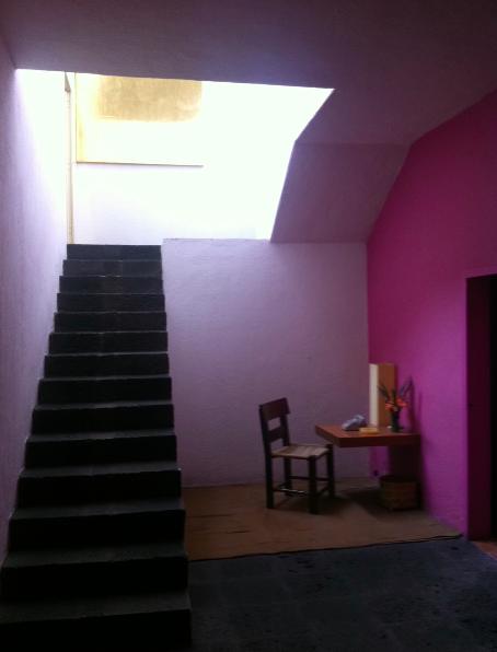 Barragán escalera