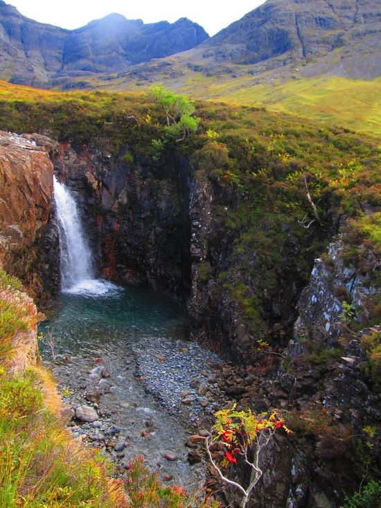 Fairypools turismo de escocia