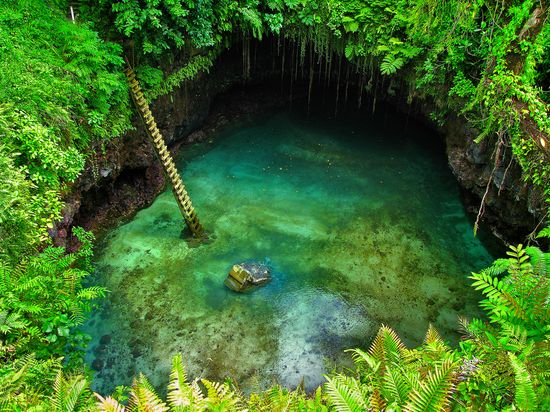 Tosua Turismo de Samoa