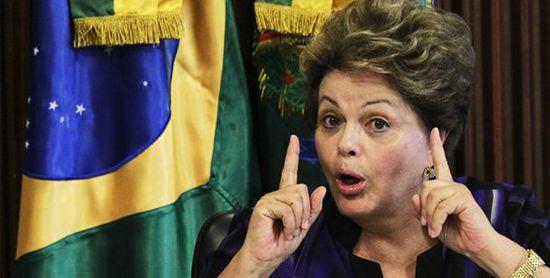 Dilma severa