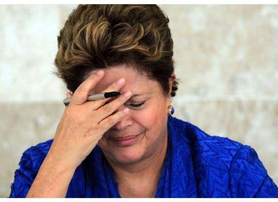 Dilma choro