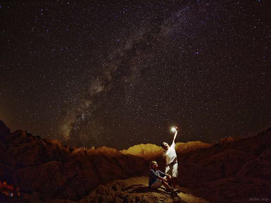 La Vía Láctea desde el desierto del Sinaí, Egipto Stefan Seip 12
