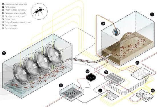 Electric ants BCN de Martin Lukac