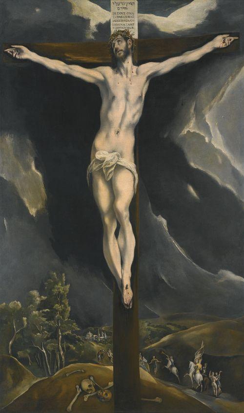 Cristino en la Cruz
