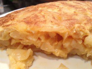 Tortilla de patata de La Viña