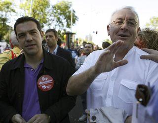 Tsipras Cayo Lara