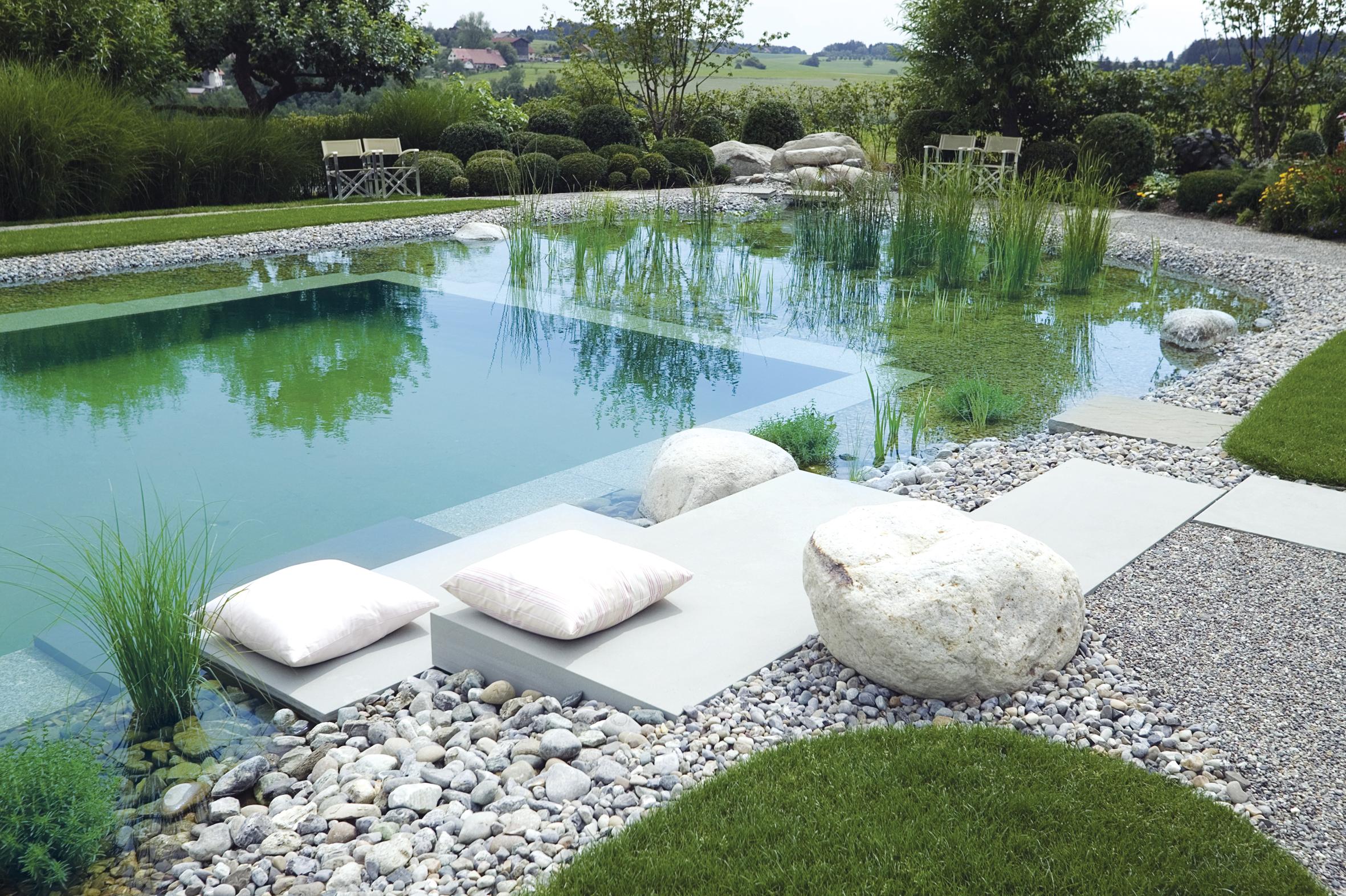 de piscina a lago