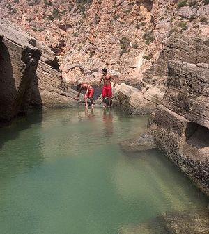 Piscinas naturales Atlantis