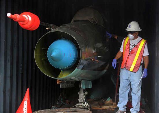 MIG-21-Corea-Norte