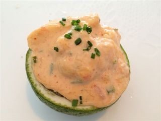 Mariscos al kimchy con lima