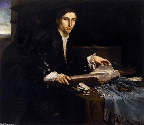 Lorenzo-Lotto-Portrait-of-a-Gentleman-in-his-Study-2-