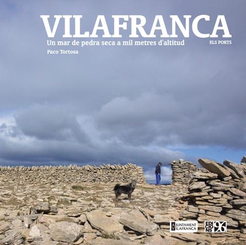 Portada del llibre Vilafranca, de Paco Tortosa