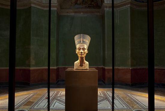 Busto de Nefertiti en el Neues Museum