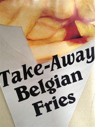 Ptatas fritas para llevar. Puro street food y finger food al mismo tiempo