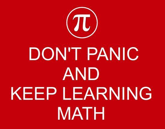 No tengas miedo a las Matemáticas