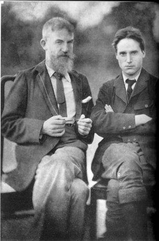 Granville Barker, con Bernard Shaw