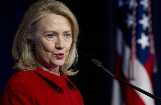 Hillary Clinton, tuitera primeriza. / SAUL LOEB (AFP)