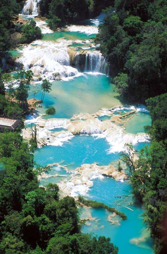 Agua Azul chiapas Mexicotours