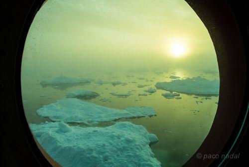Medianoche en Groenlandia