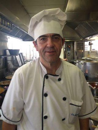 Jefe de cocina del restaurante Venezuela