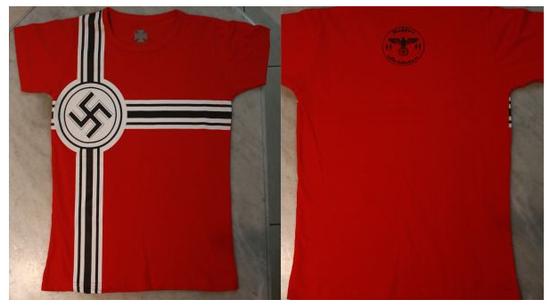 El uniforme y merchandising de SOLDATENKAFFE