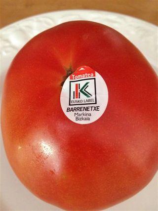 Kalitatea (Eusko Label) del gobierno vasco, cultivados en Markina (Vizcaya)