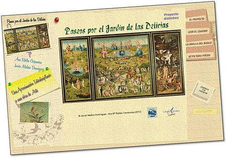 web: Paseos por el Jardín de las Delicias