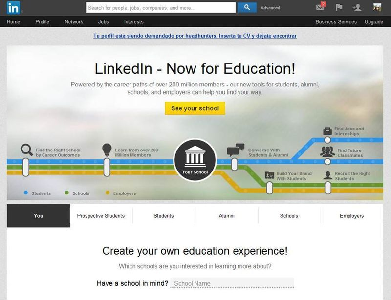 Linkedin now for Education