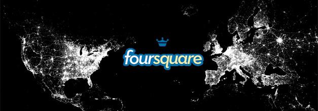 Foursquare mapamundi