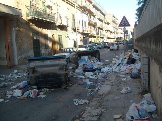 Barrio Brancacci en Palermo