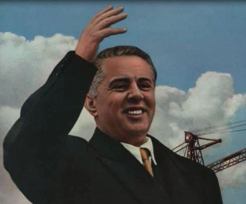 Enver Hoxha cuadro