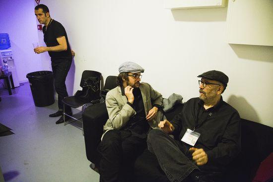 Backstage con Joan Solé