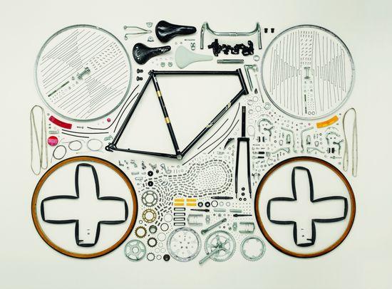 Bicicleta, años 80
