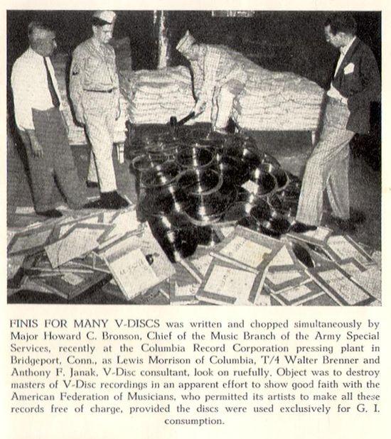 V-Disc_Records_Destroyed masters