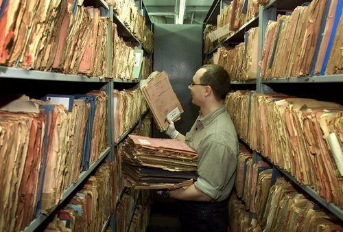 Archivo de la Stasi