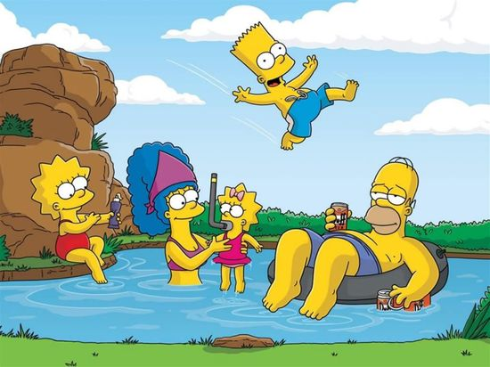 Simpsons vacaciones