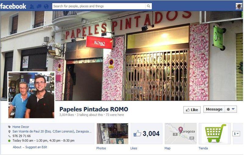 FB Papeles pintados ROMO