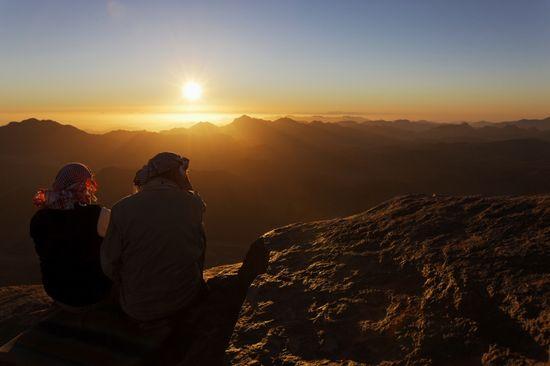 Monte Sinaí Getty